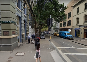 Clarence Street and Barrack Street, Sydney