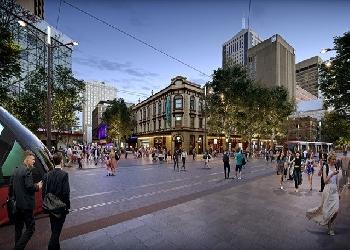 George Street South Pedestrianisation