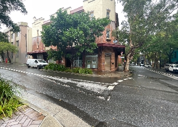 INTERSECTION OF BALFOUR STREET AND MEAGHER STREET, CHIPPENDALE