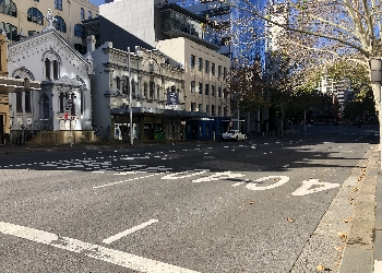 GOULBURN STREET, SYDNEY (between Elizabeth Street and Wentworth Avenue)